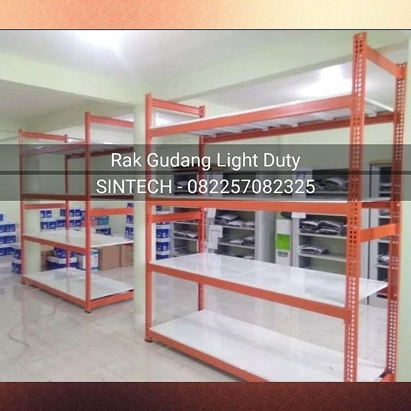 Rak Gudang tipe Light / Low Duty